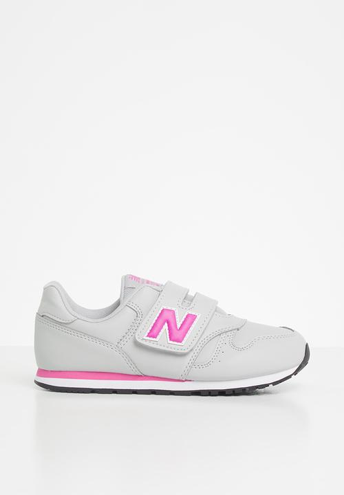 Optimista silencio trompeta  Kids classic 373 - grey/pink New Balance Shoes | Superbalist.com