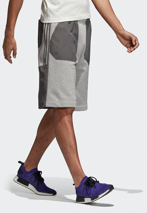 disonore sciatto tamburo  Nmd short - grey adidas Originals Sweatpants & Shorts | Superbalist.com