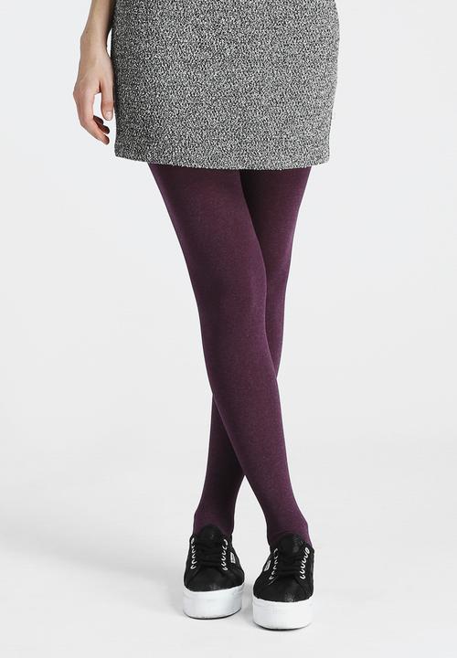 05e06065b82 100 Denier Marl Tights - Purple Gipsy Tights Stockings   Socks ...
