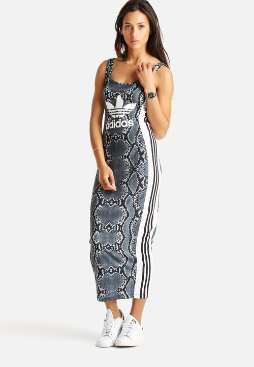 adidas long dress