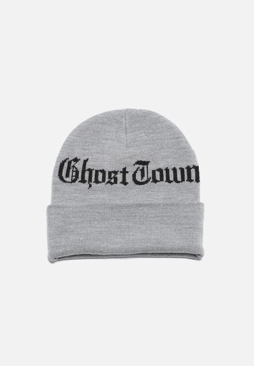 44d28168f03 Ghost Town Beanie- Grey Carhartt WIP Headwear