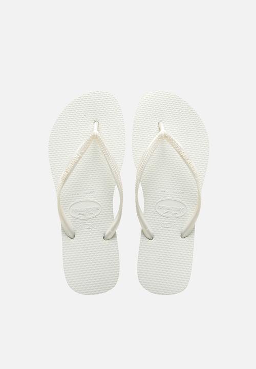 ae77d7efb7f3 Slim - white Havaianas Sandals   Flip Flops