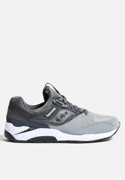 2a54983e9db2 GRID 9000 - S70077-39 - GREY CHARCOAL Saucony Running Sneakers ...