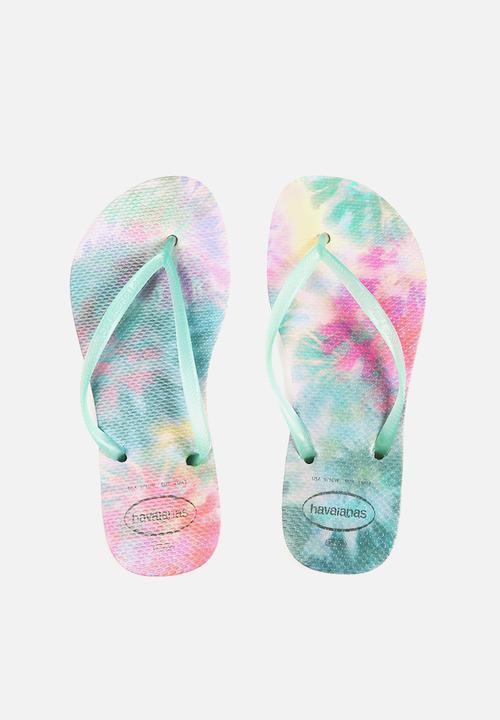 894cdccecfc0 Slim tie dye crystal rose havaianas sandals flip flops jpg 500x720 Tie dye  sandals