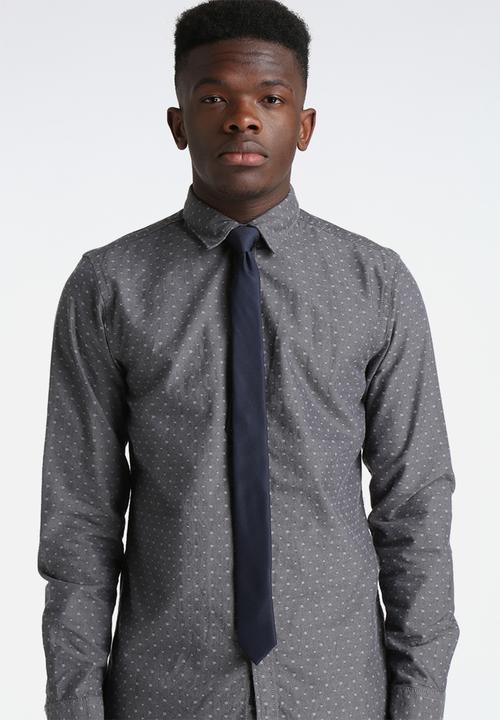 84bae0991dc0 Plain Tie - Dark Navy Selected Homme Ties & Bowties | Superbalist.com
