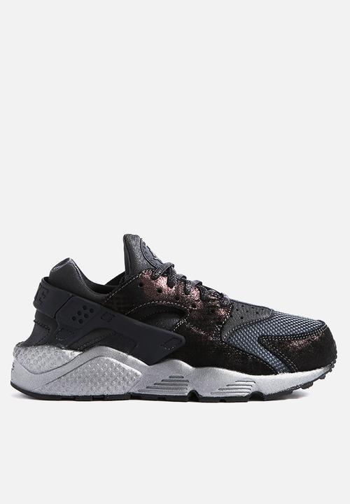 8e00d45173f3 Wmns Air Huarache Run PRM - 683818-004 - Black   Anthracite Nike ...