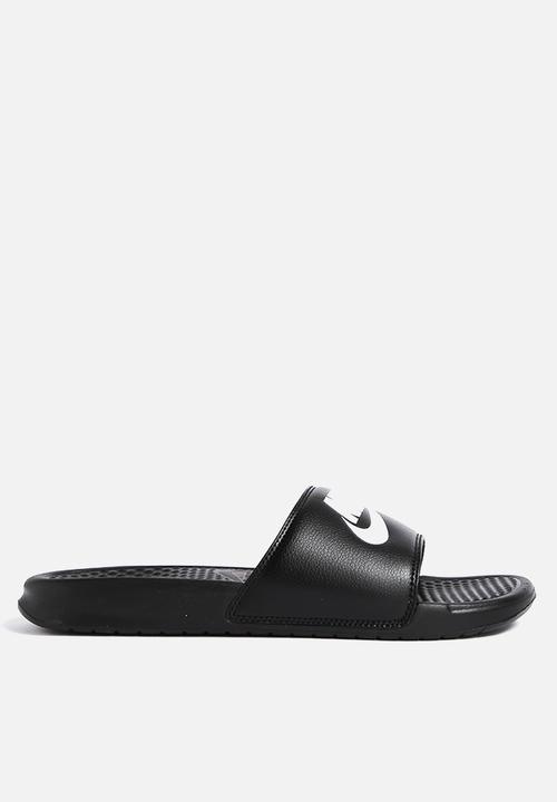 Mens Benassi JDI - 343880-090 - Black Nike Sandals   Flip Flops ... a0fb3f4d3