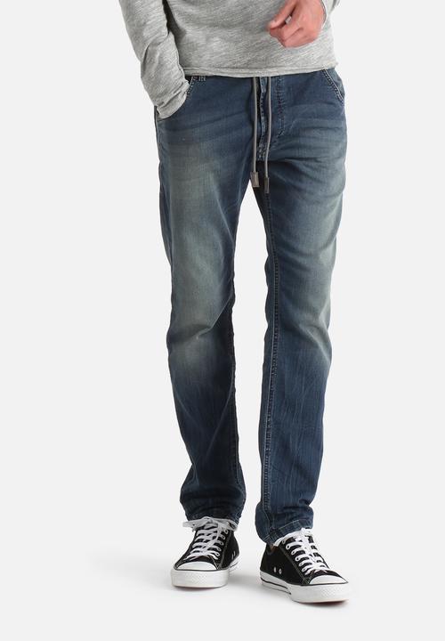 1a6a7aecfc7 Krooley Joggjeans - Blue Wash Diesel Jeans