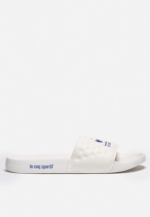 37b630740fd2 La Claquette - blue white Le Coq Sportif Sandals   Flip Flops ...