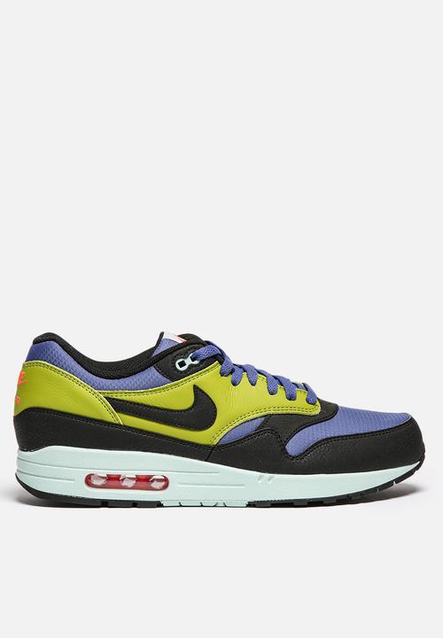97c832b2e5 Air Max 1 Essential - 537383-403 - Blue Legend / Black Cactus Nike ...