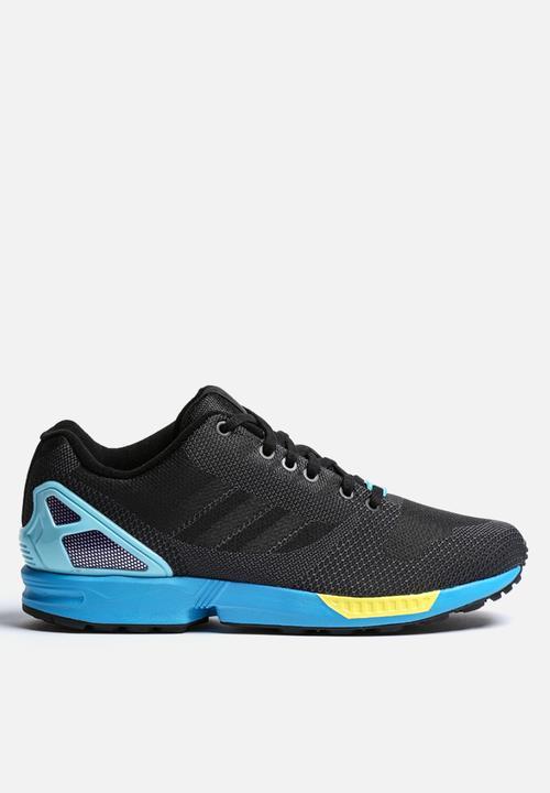 51c89a50a536 ZX Flux Weave - AF6347 - Core Black   Light Aqua adidas Originals ...