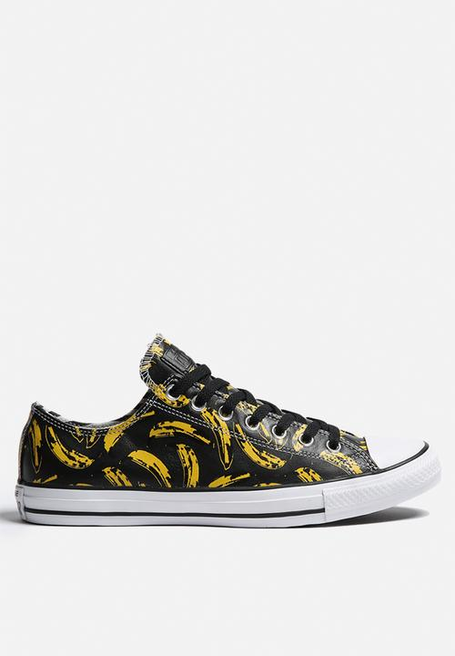 745735488632 Chuck Taylor All Star ox - Warhol Banana - Gray Converse Sneakers ...