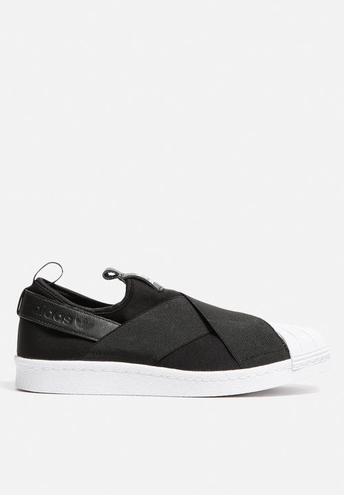 Superstar Slip On - S81337 - Core Black adidas Originals Sneakers ... 8dea37ff5b56