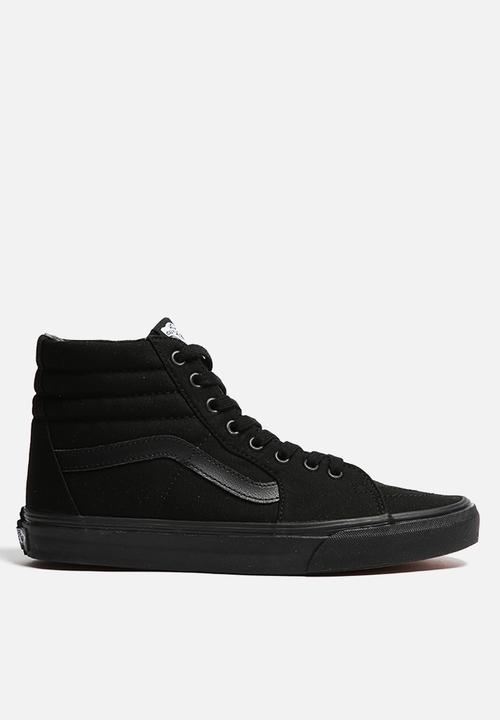 1e6ade72119cc7 Vans Wmns SK8-Hi - VN-0TS9BJ4 - Black Vans Sneakers