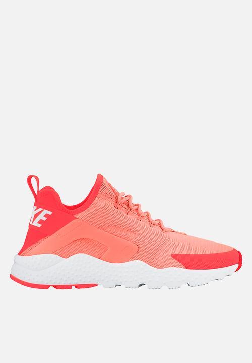 Nike Wmns Air Huarache Run Ultra - 819151-800 - Bright Mango   White ... 9dd2ef4335