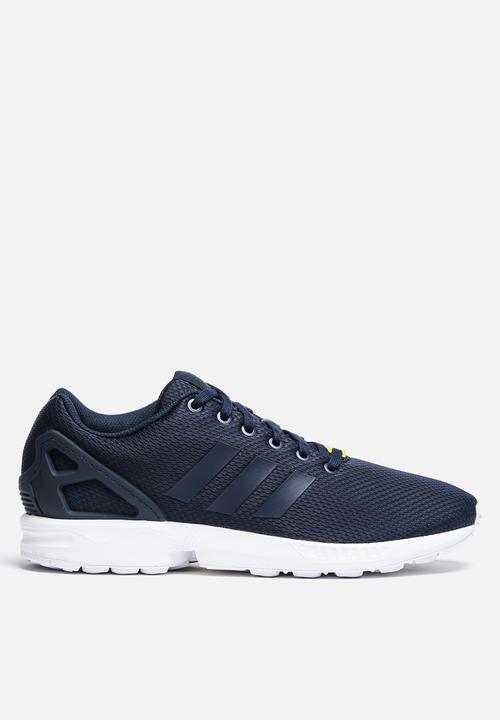 7ad6bf45e ZX Flux - M19841 - Dark Blue   Core White adidas Originals Sneakers ...