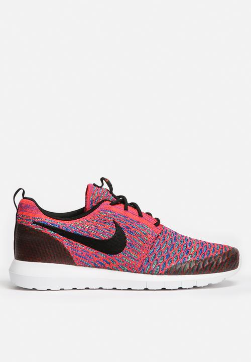 11dd1e8b2dcd Nike Roshe One NM Flyknit SE - 816531-600 - Bright Crimson   Black ...