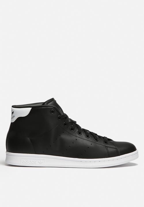 78fc10a5805 Stan Smith Mid - S75027 - Core Black   White adidas Originals ...