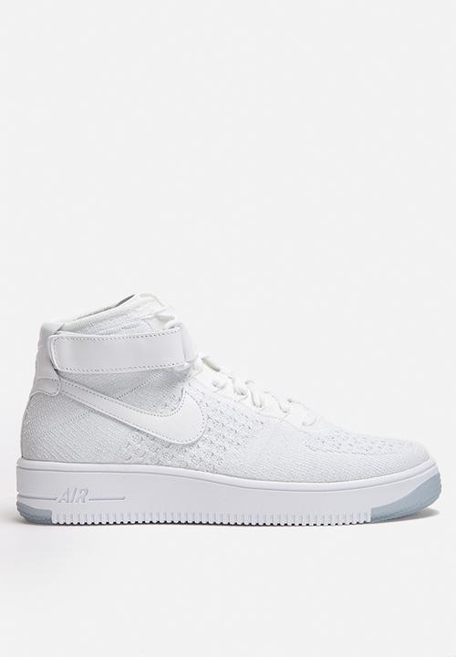 413951d03fc5f Nike W Air Force 1 Ultra Flyknit - 818018-100 - White   Pure ...
