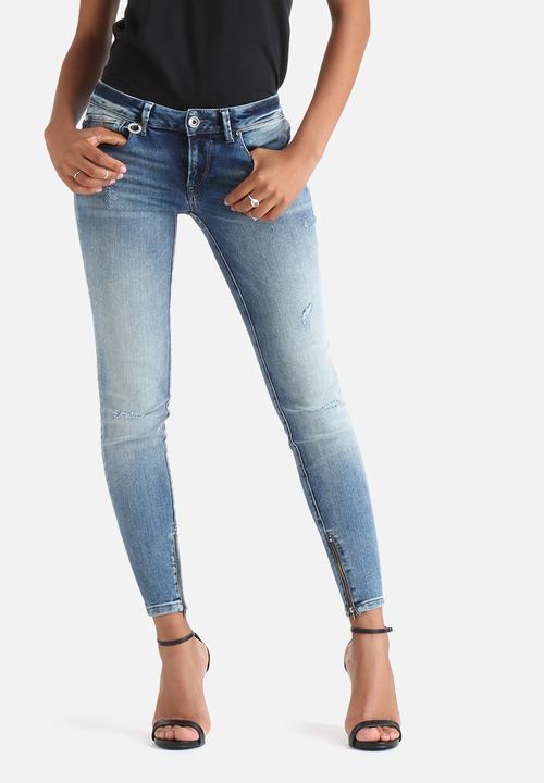 5acffb6526 Carrie Low Ankle Skinny - Medium Blue Denim ONLY Jeans | Superbalist.com