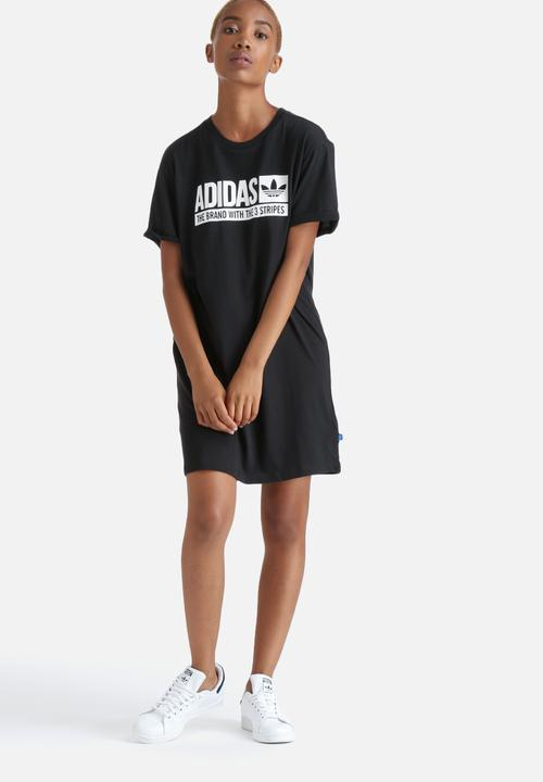 15ac997bb98 Tee Dress - Black adidas Originals T-Shirts