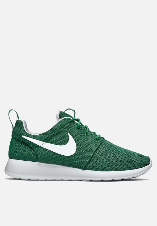 dbd658091341f Nike Roshe One - 511881-313 - Gorge Green   White Nike Sneakers ...