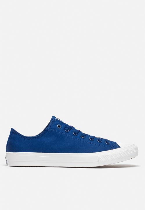 9dee8ca820620e Converse CTAS II Ox - 150152C - Soladite Blue   White Converse ...