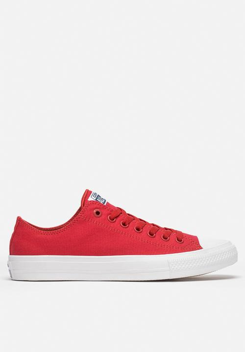 798bf32200e Converse CTAS II Low - 150151C - Salsa Red Converse Sneakers ...