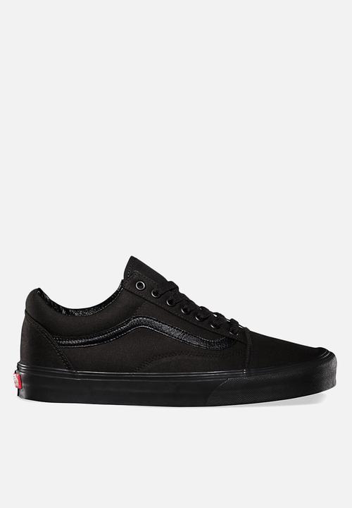 893c634c7b7f Vans Old Skool - Black   Black Vans Sneakers