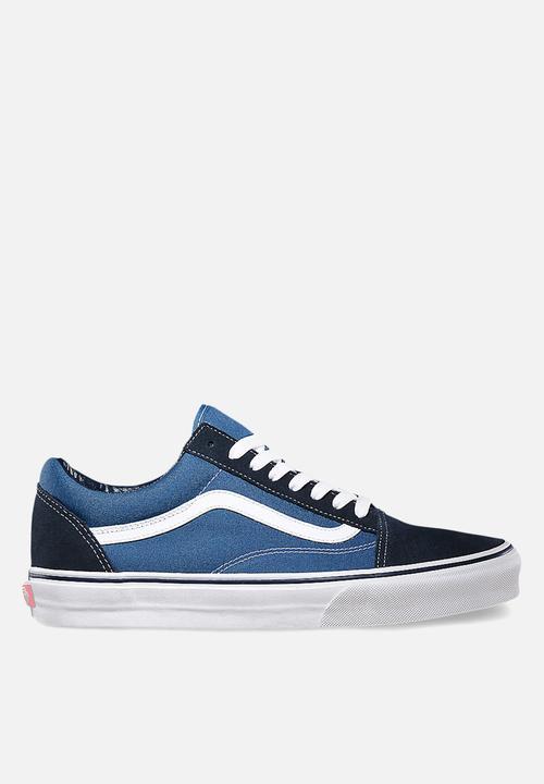 d9b85e8207 Vans Old Skool - Navy   Black Vans Sneakers