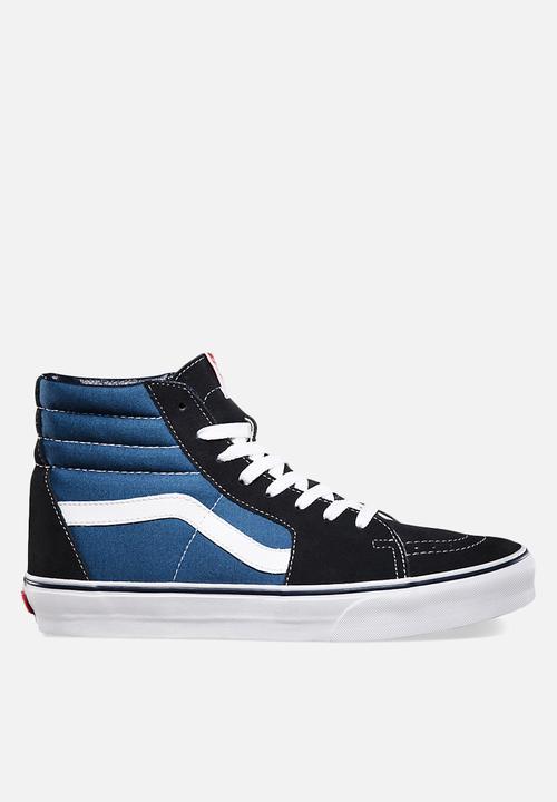 1d119944a0 Vans SK8-Hi Reissue - Navy   Black Vans Sneakers