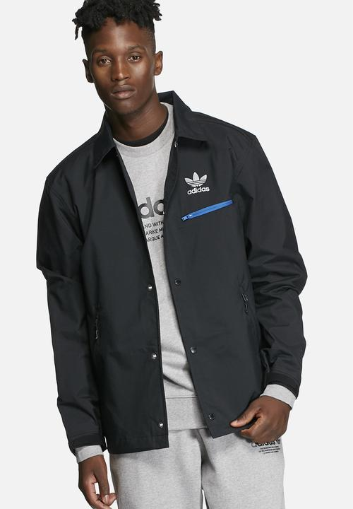 6939db7ca1 Training Coach Jacket - Black adidas Originals Hoodies
