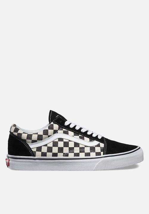 0af92d354e Vans Checkerboard Old Skool - Black   Espresso Vans Sneakers ...