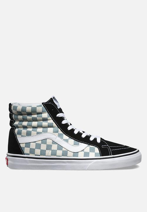 ca37ec5993c Vans Checkerboard SK8-Hi Reissue - Black   Citadel Vans Sneakers ...