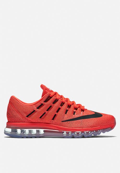 c206e48864 Nike Air Max 2016 - 806771-600 - Bright Crimson / Black Nike ...