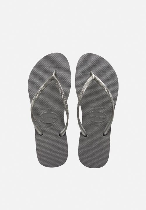 6b72143a228 Slim - steel grey Havaianas Sandals   Flip Flops