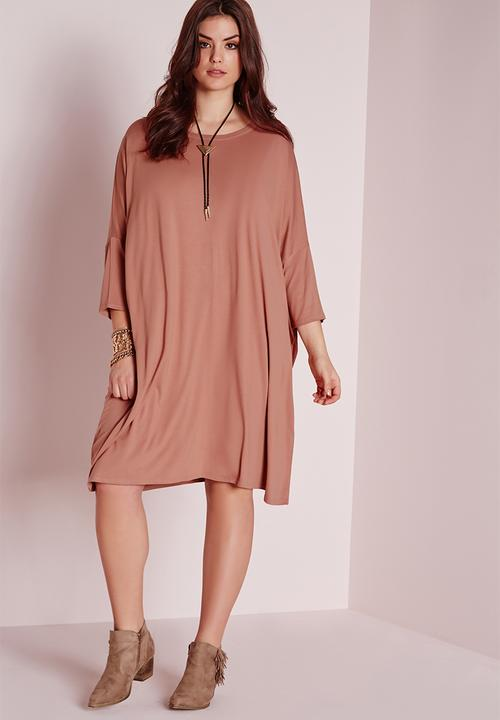 c91a533b93b Plus size oversized dress - Yeezy Pink Missguided Casual ...