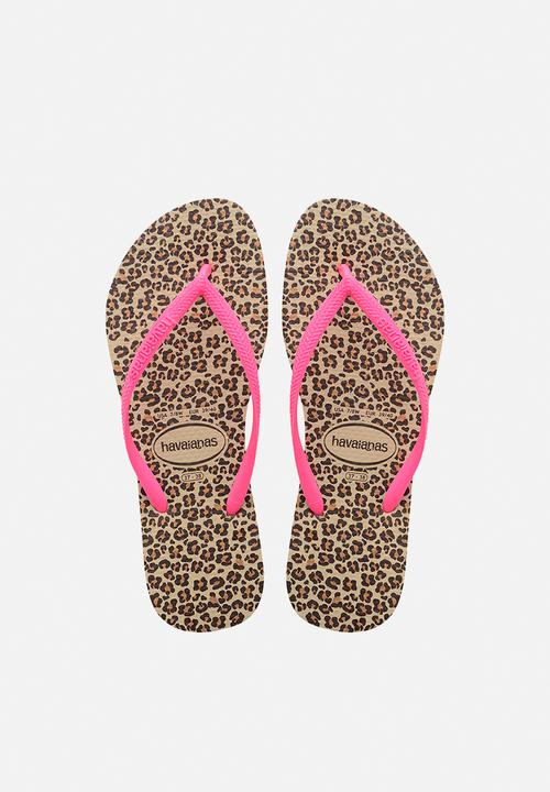 ee51beada8fbc4 SLIM ANIMALS - SAND GREY PINK Havaianas Sandals   Flip Flops ...