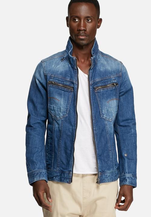581e44bf8f7a9 Arc Zip 3D Slim Jacket -Medium Aged G-Star RAW Jackets
