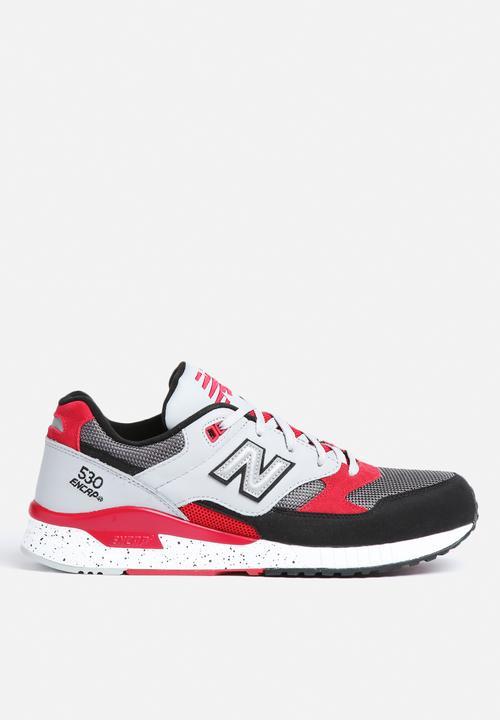 New Balance M530PSB - Red   Black New Balance Sneakers  f71c014031