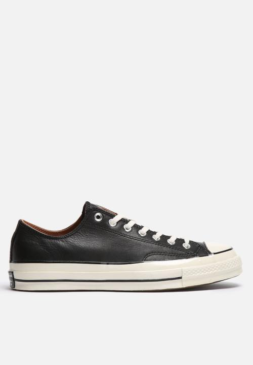 5a21861f753c Converse CTAS  70 OX PRM Leather - Black Converse Sneakers ...