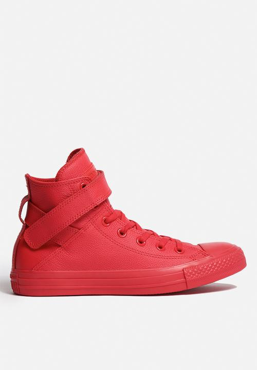 438dc9febeb6 Converse CTAS Brea Mono Leather HI - Brake Light Converse Sneakers ...