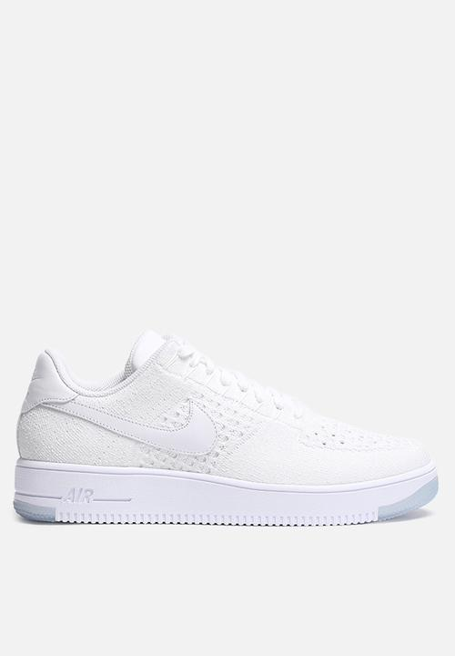 3d8f7798436351 Nike Air Force 1 Ultra Flyknit Low - 817419-100 - White   White Ice ...
