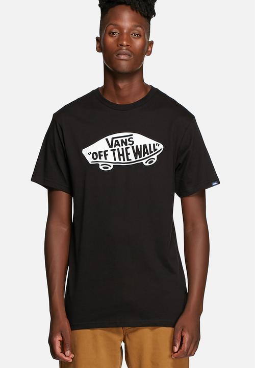 8c1624247e Vans OTW Tee - Black   White Vans T-Shirts   Vests