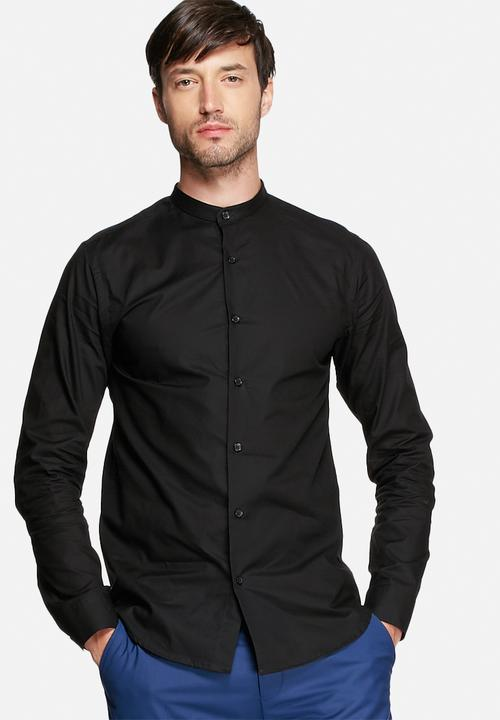 f1c02ed3d One China Shirt LS - Black Selected Homme Formal Shirts ...