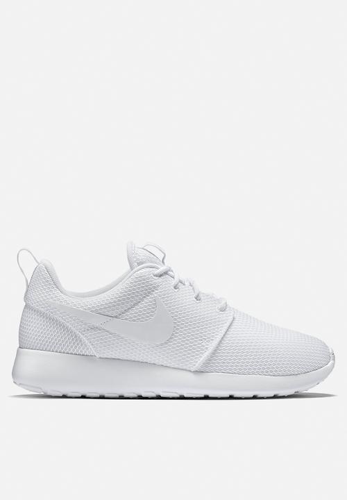 0a7750fb27ba Nike Roshe One - 511882-111 - White   White Nike Sneakers ...