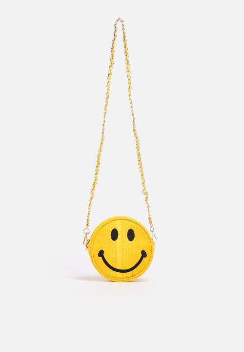 Nila Anthony Smiley Face Sling Bag