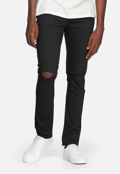 e860bfbf061 Loom knee cut 3961 - black Only & Sons Jeans | Superbalist.com