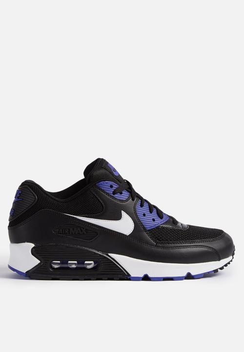 00174c51a311 Nike Air Max 90 ESS - 537384-052 - Black   Persian Violet Nike ...