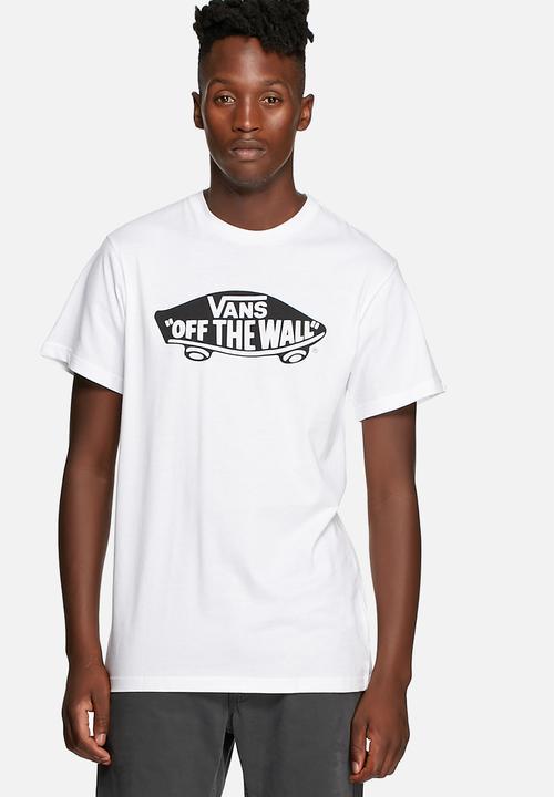 1357d18404 Vans OTW short sleeve tee - White Vans T-Shirts   Vests ...